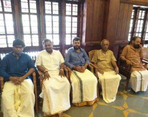 hindu seva kendram organisers with Sabarimala Tantri