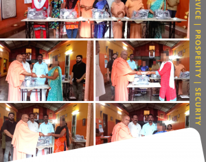 Hindu Seva Kendram Distributes Sewing Machines